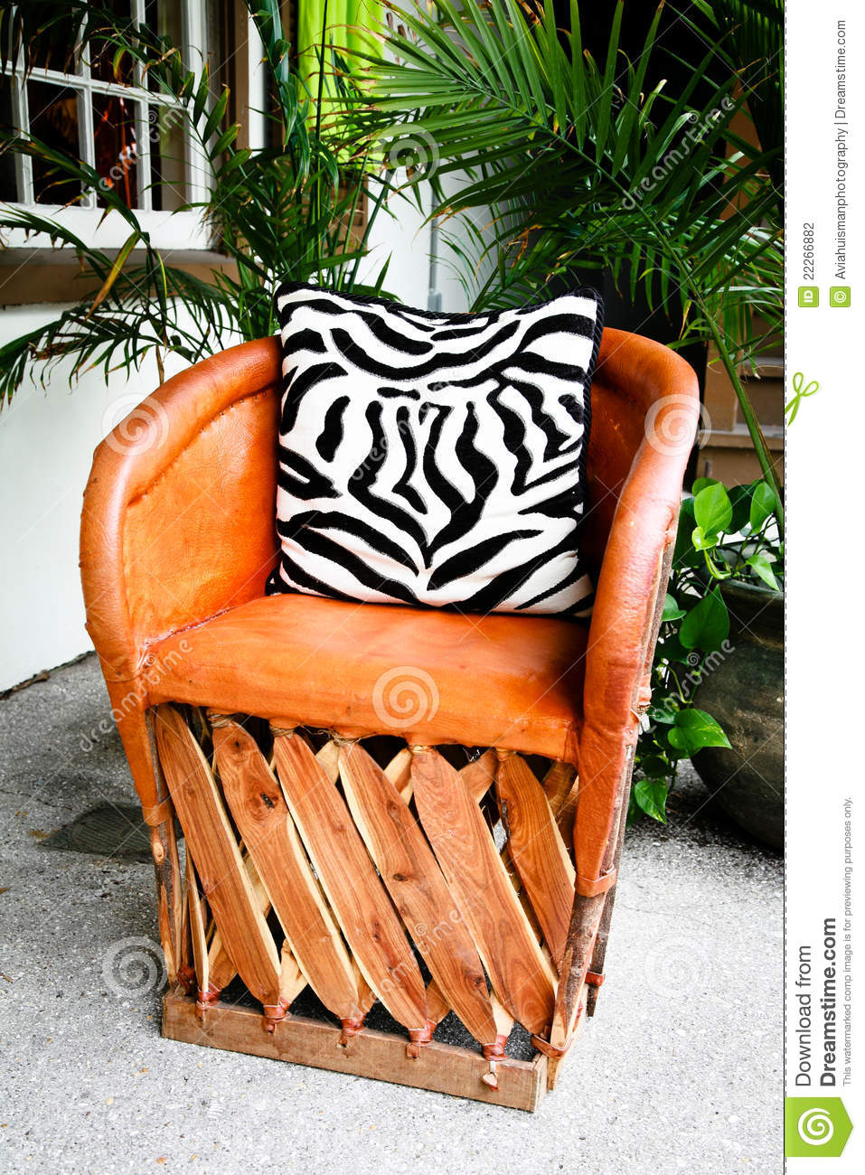 Super Luxury Leather Patio Chair Stock Photo Image Of Outdoors Dailytribune Chair Design For Home Dailytribuneorg