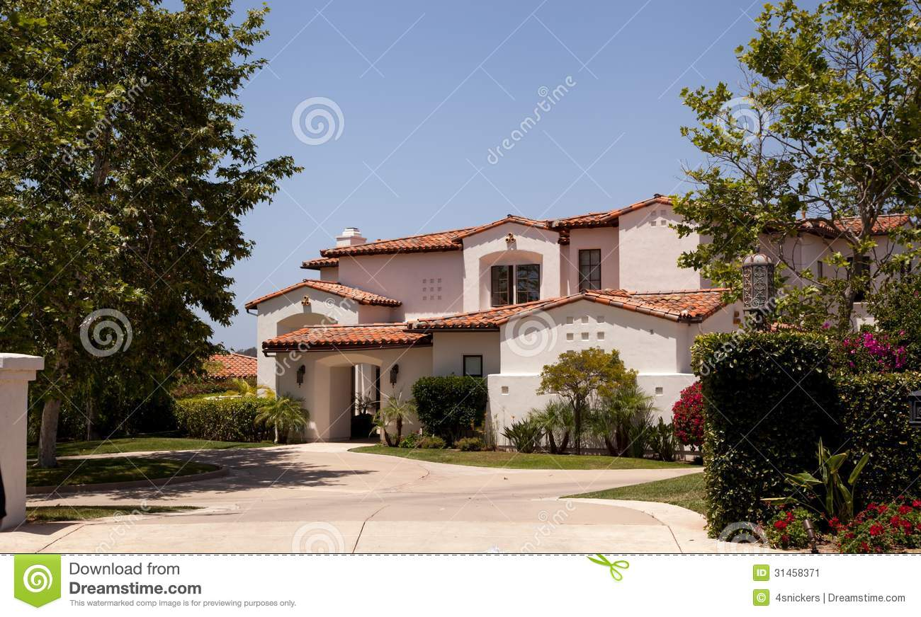 Large Luxurious Executive Home Custom Designed Sits In An