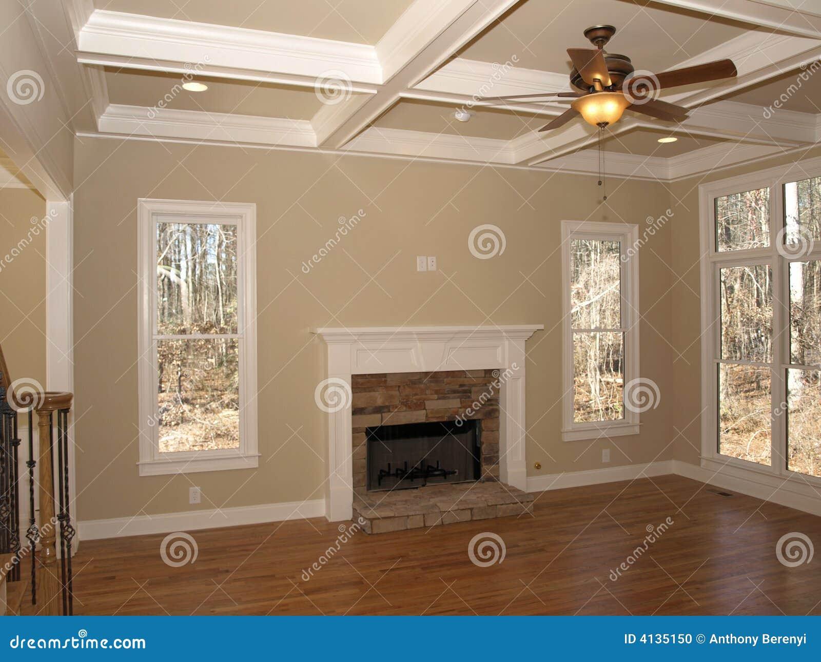 Luxury Living Room Luxury Living Room Empty Stock Photo Image 4135150