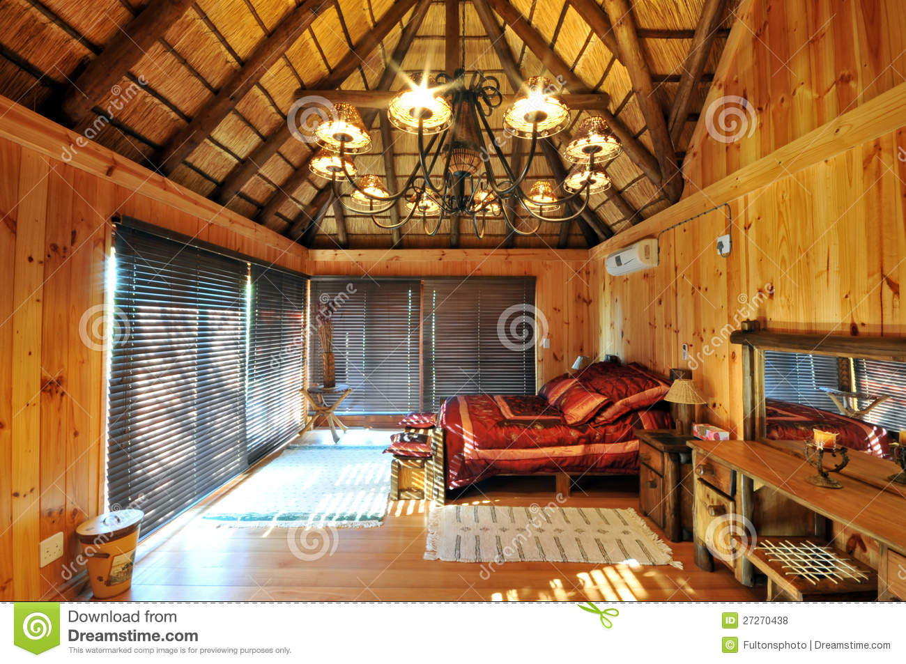 Luxury log cabin accommodation royalty free stock photos for Exclusive accommodation