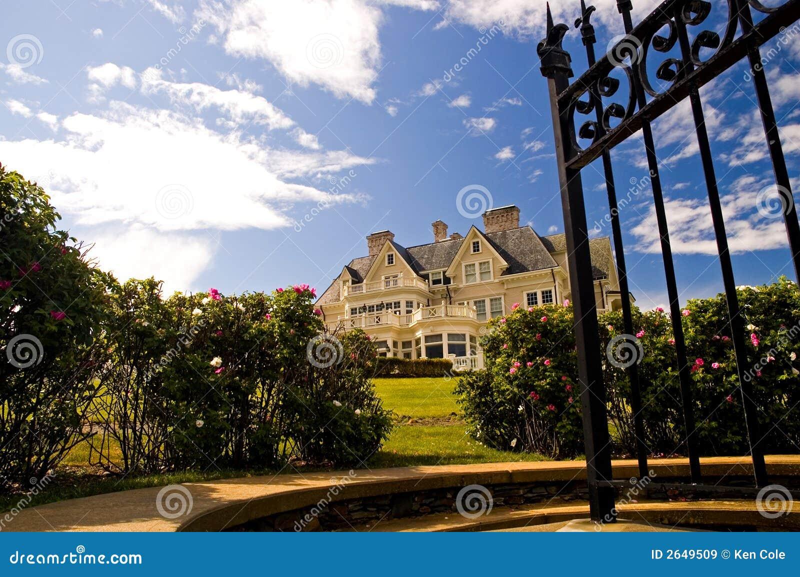 Luxury Mansion Stock Image Image Of Entrance Elite