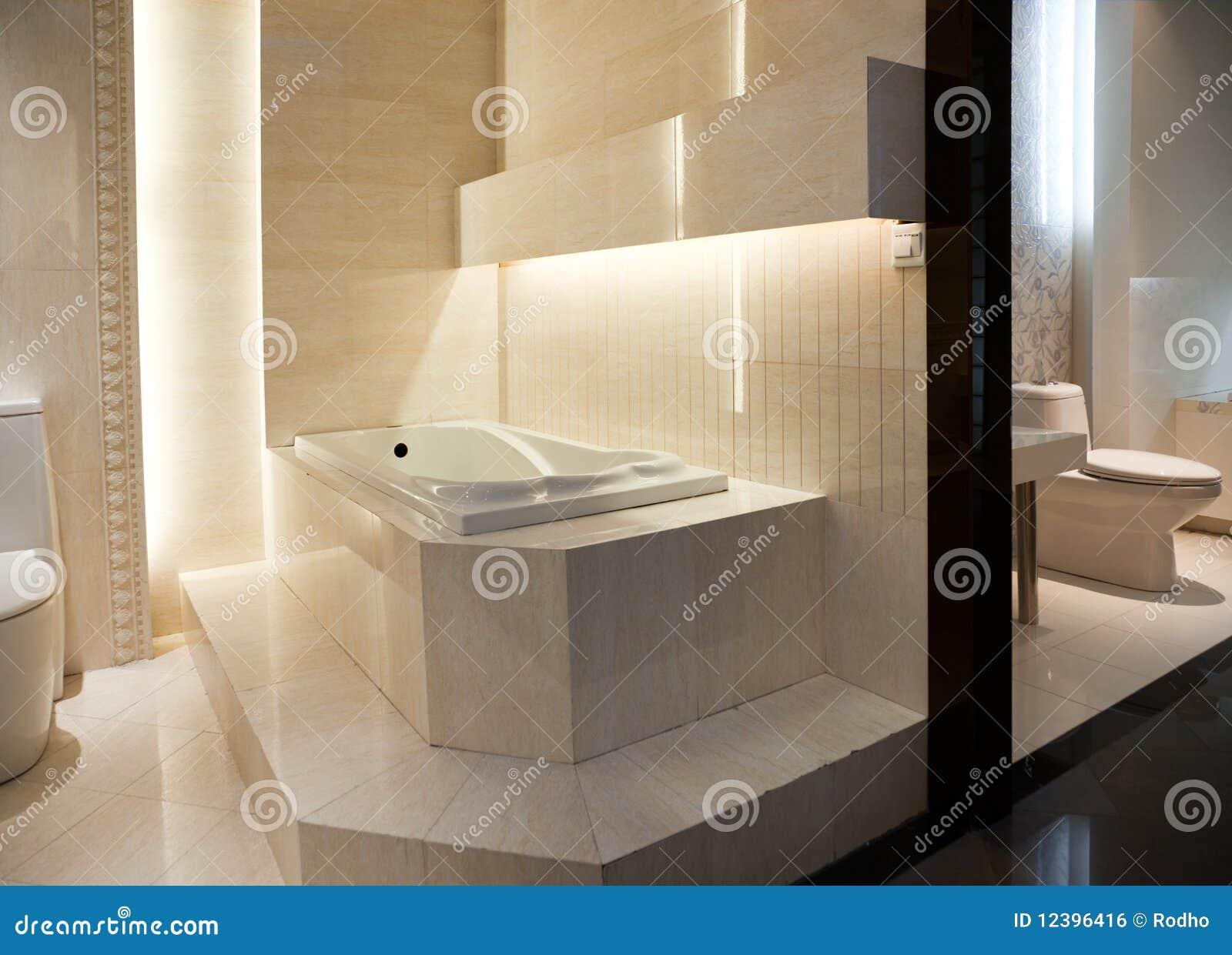 Luxury Master Bathroom Royalty Free Stock Image Image