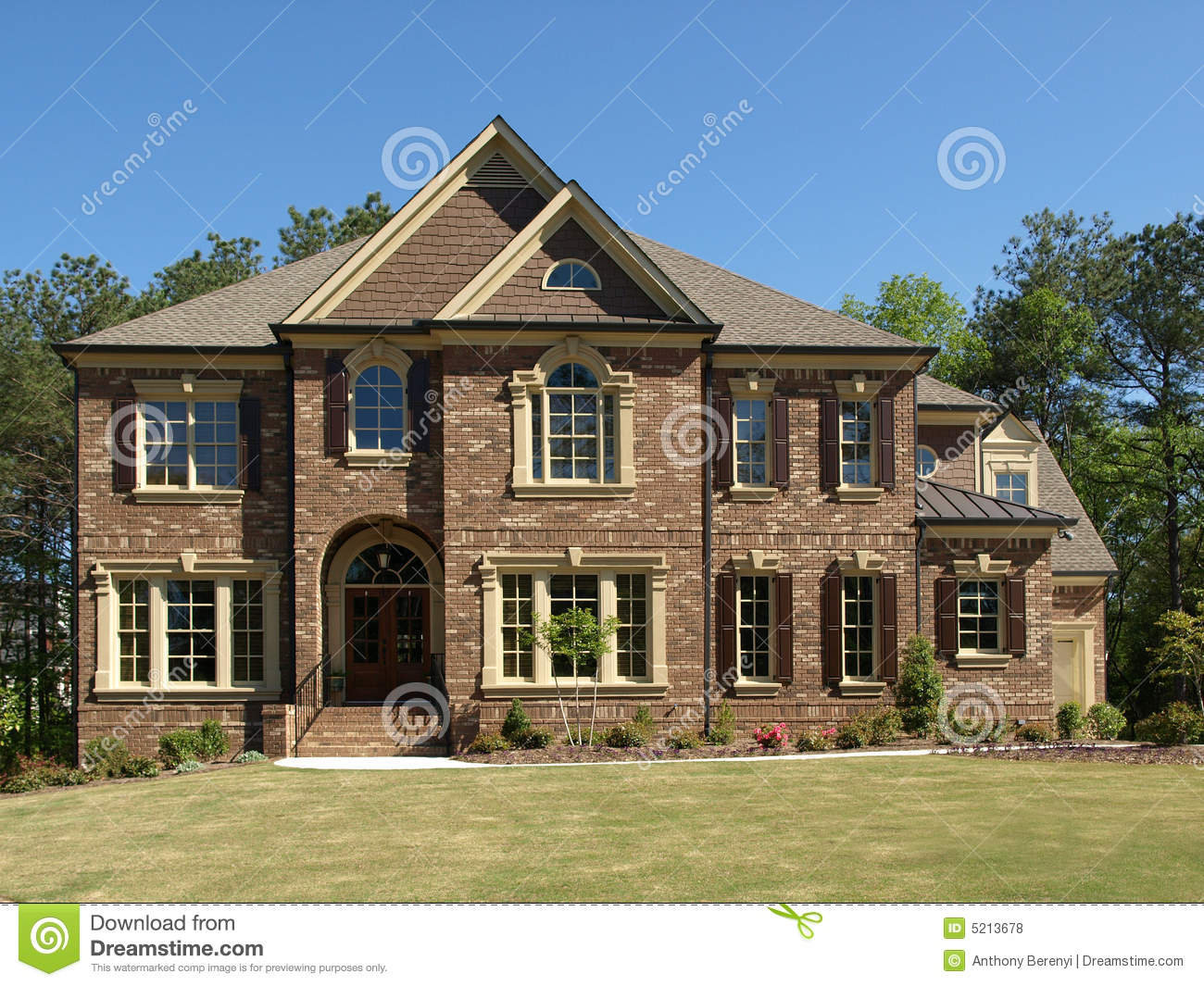 Luxury Model Home 5 Royalty Free Stock Photos Image 5213678