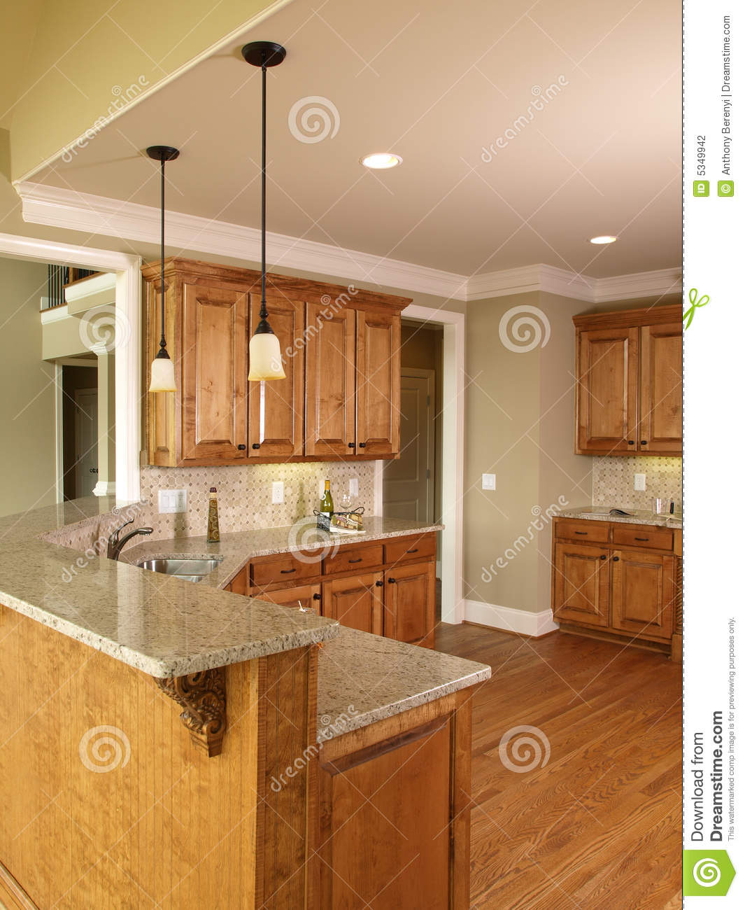luxury model home with honey colored kitchen mr no pr no 2 1594 2