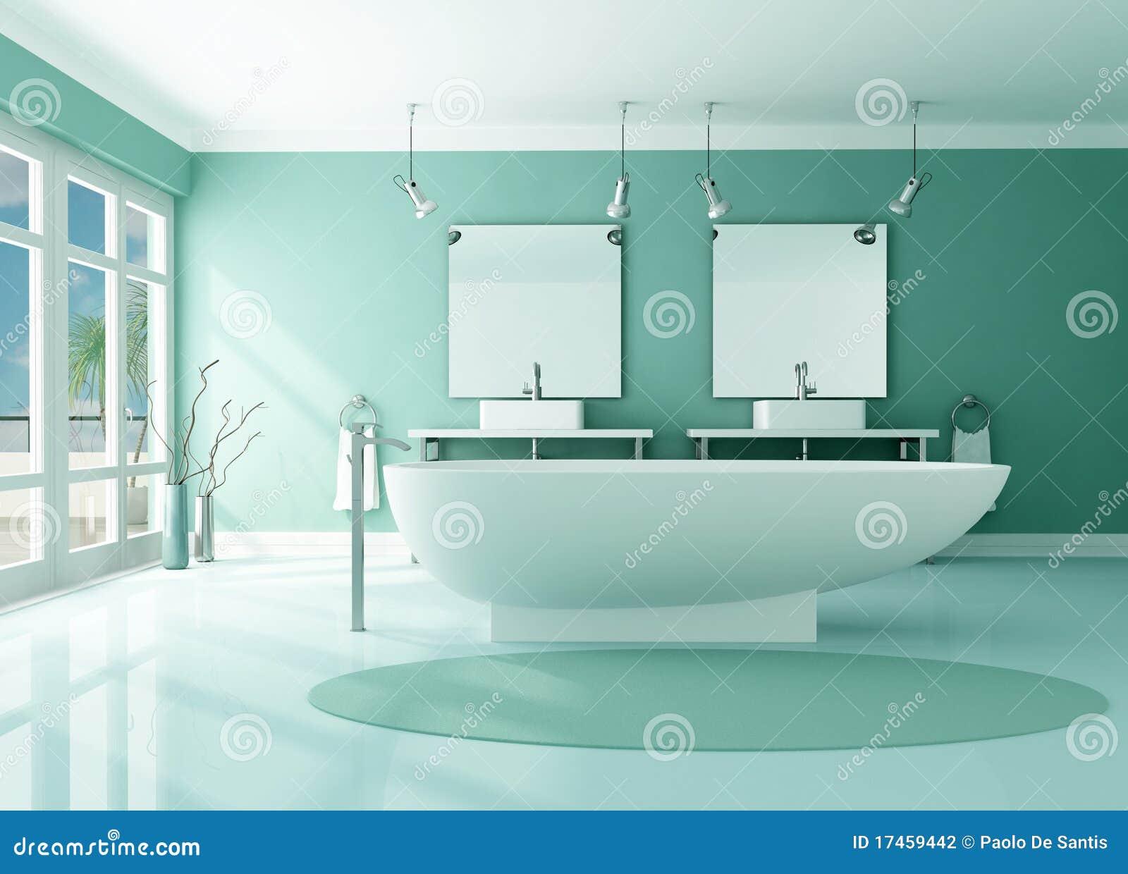 Luxury modern bathroom stock illustration image of comfy 17459442 - Salle de bain de luxe moderne ...