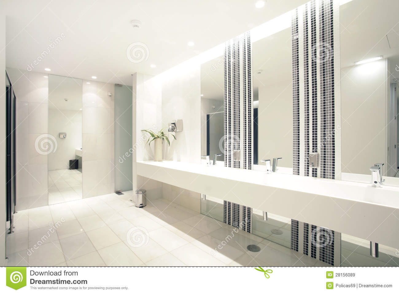 Royalty Free Stock Images Luxury Modern Bathroom Suite With Bath