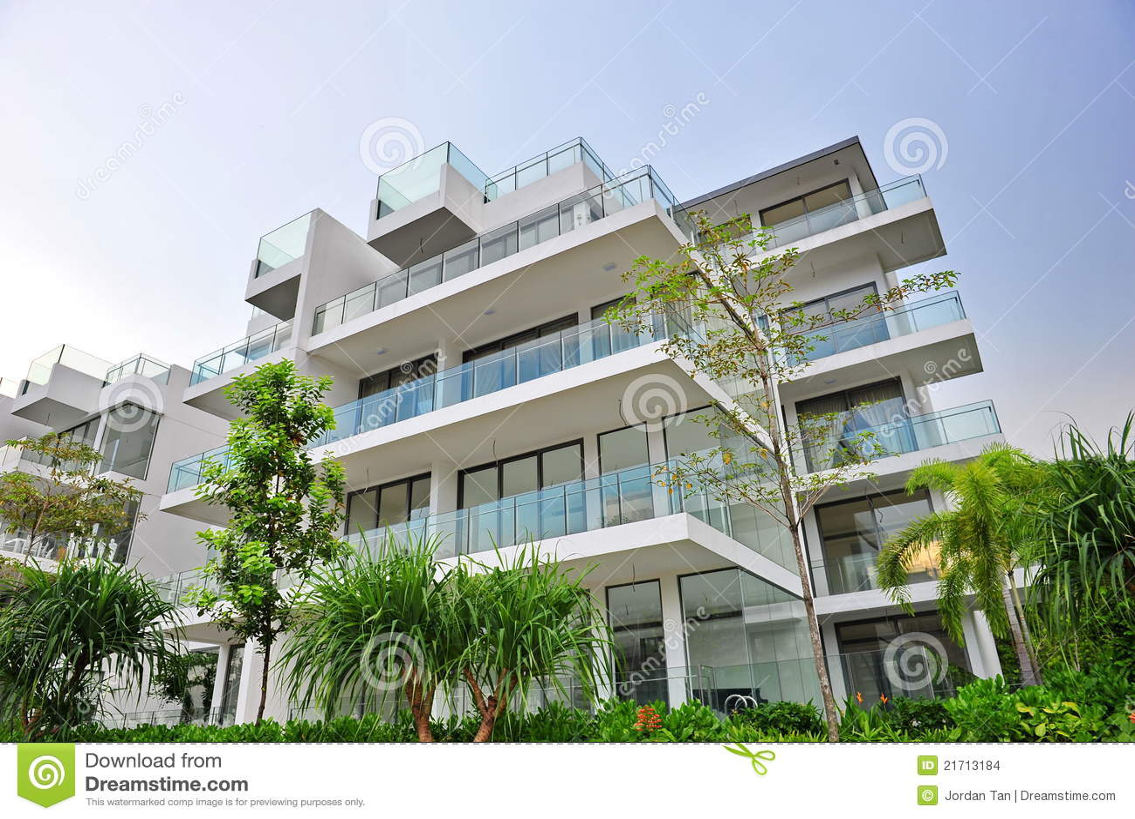 Luxury and modern condominium