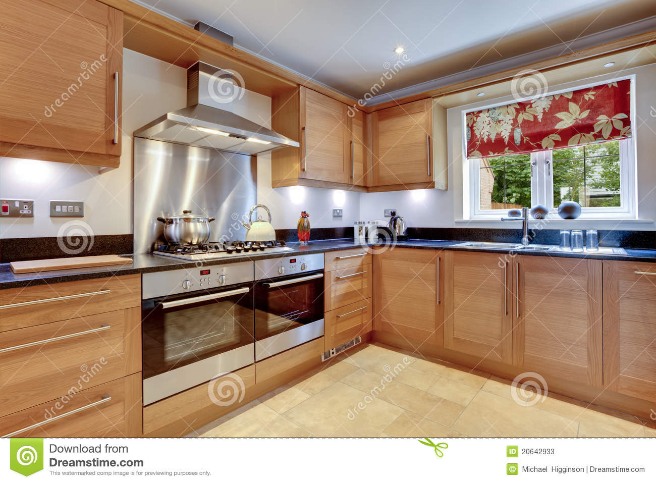 Luxury Modern Kitchen Stock Image Image Of Grill Room 20642933