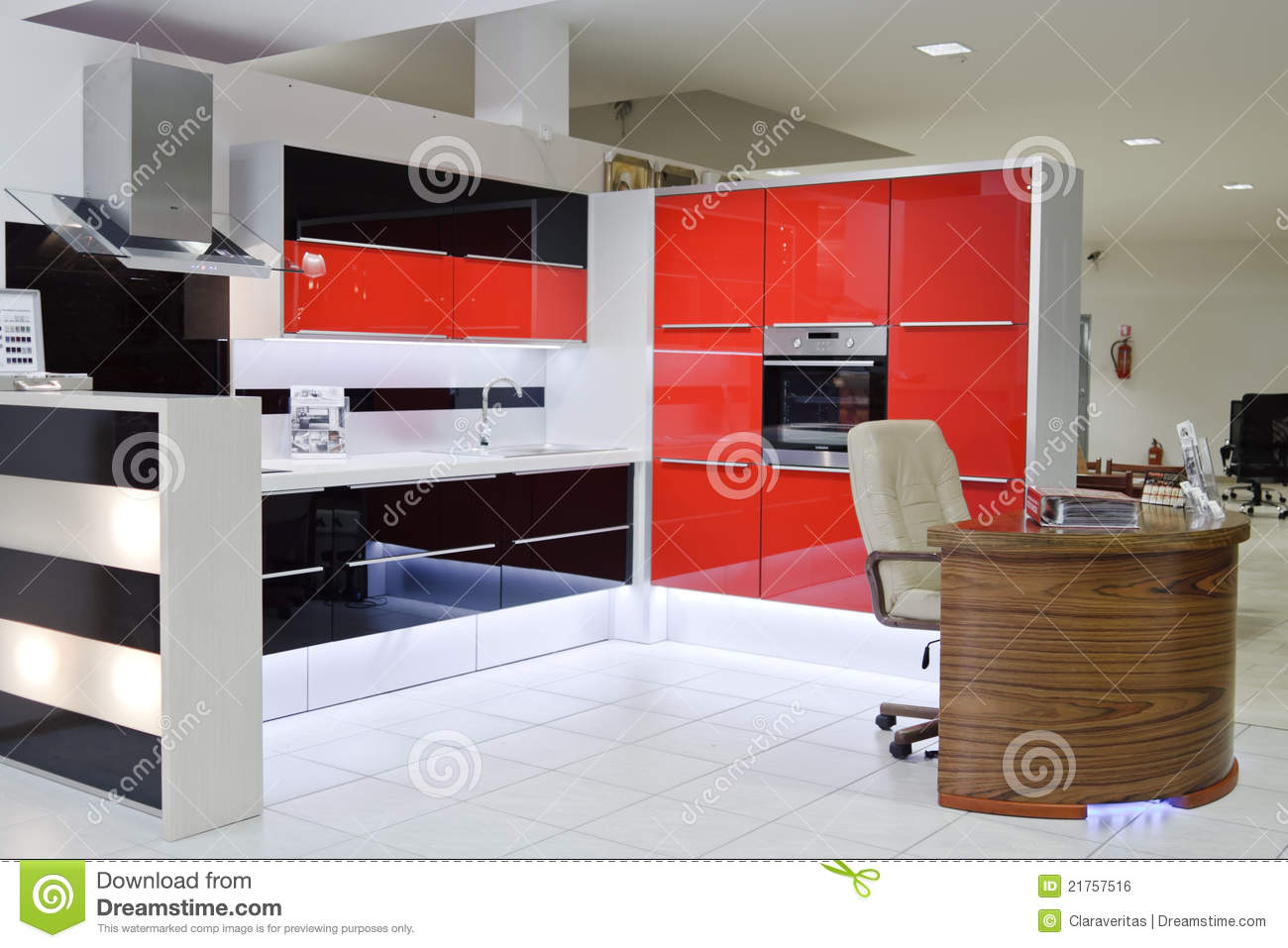Luxury modern kitchen royalty free stock image image for Luxury modern kitchen
