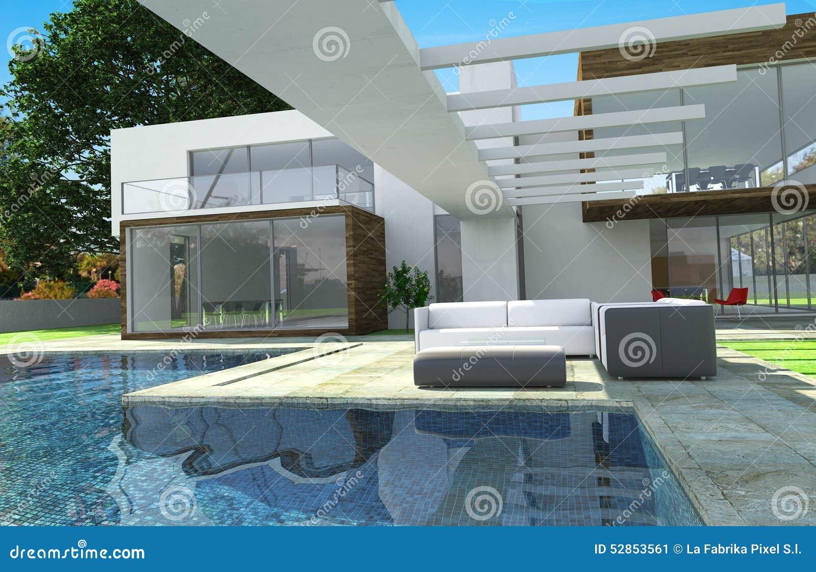Modern mansion exterior - Luxury Modern Mansion Exterior
