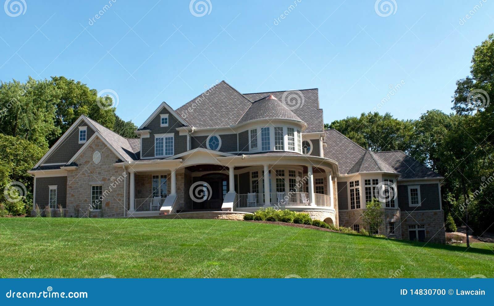 Luxury Multi Level Home Stock Photo Image 14830700