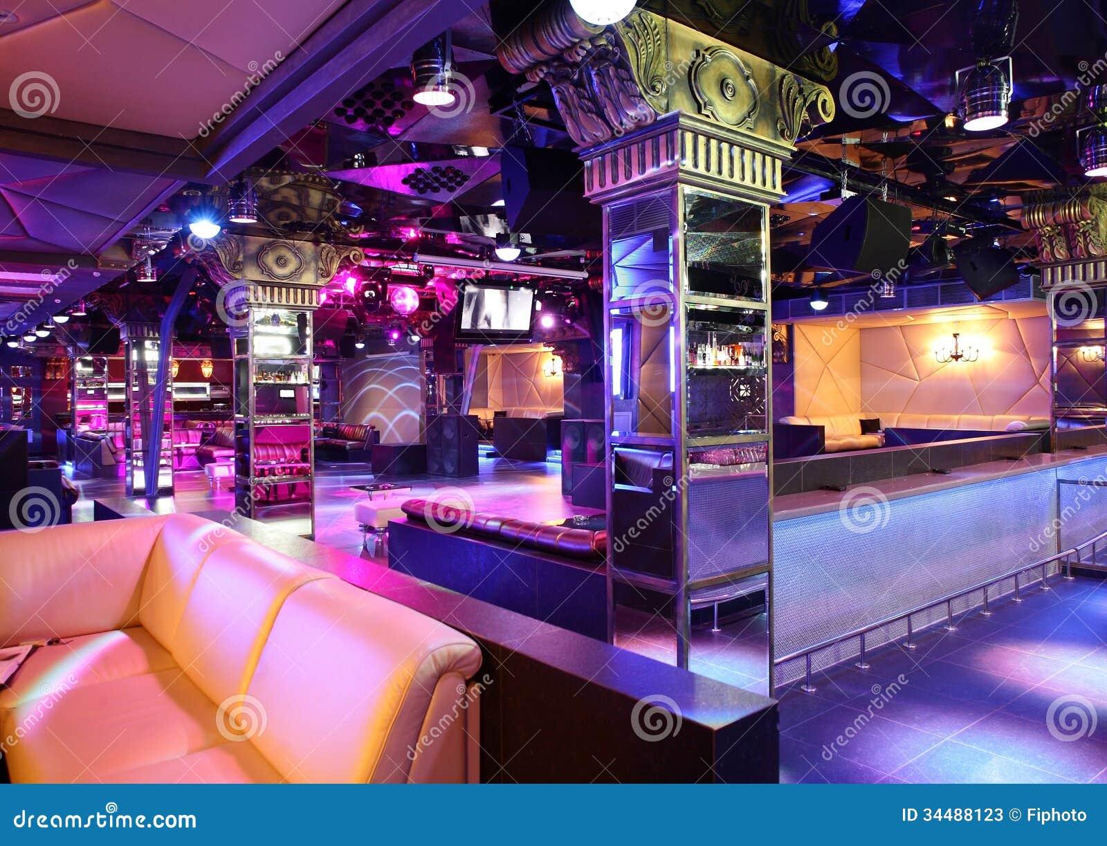 Luxury night club in european style stock photos image - Decoration boite de nuit ...