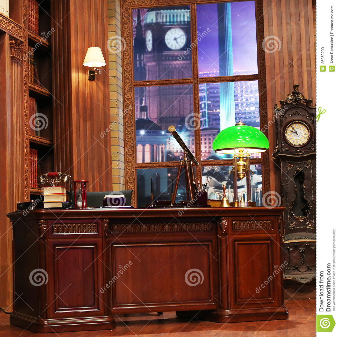 Luxurious Home Office Space Stock Photos - Image: 12514153