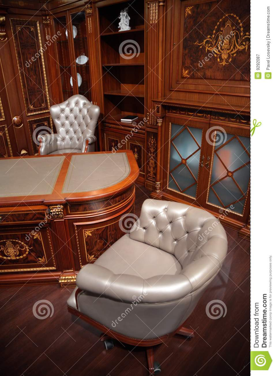 Luxury Office Interior Royalty Free Stock Photography 91032113