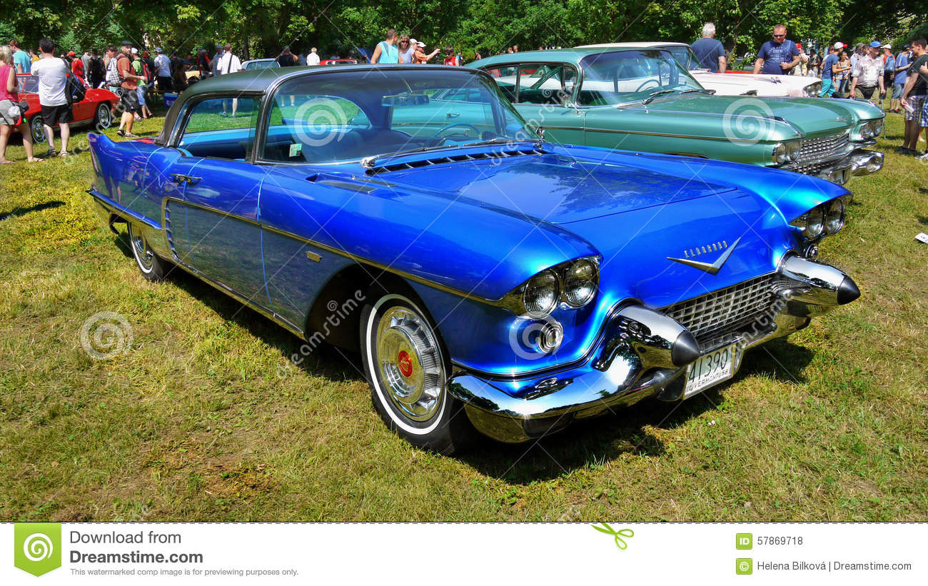 Luxury Old Cars Cadillac Editorial Stock Photo Image