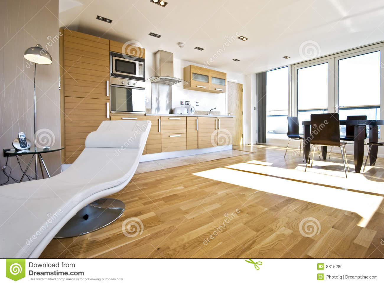 Luxury open plan living room stock photo image 8815280 for Sitting room plan