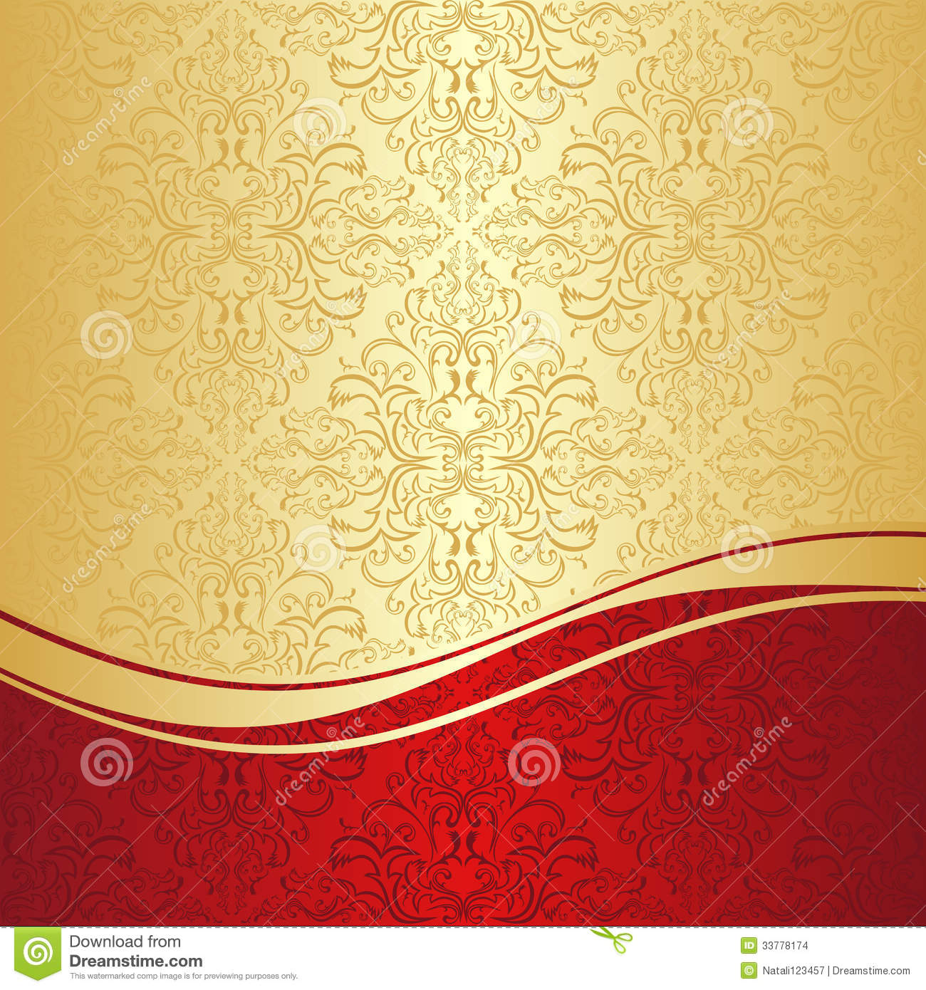 red golden background - photo #14