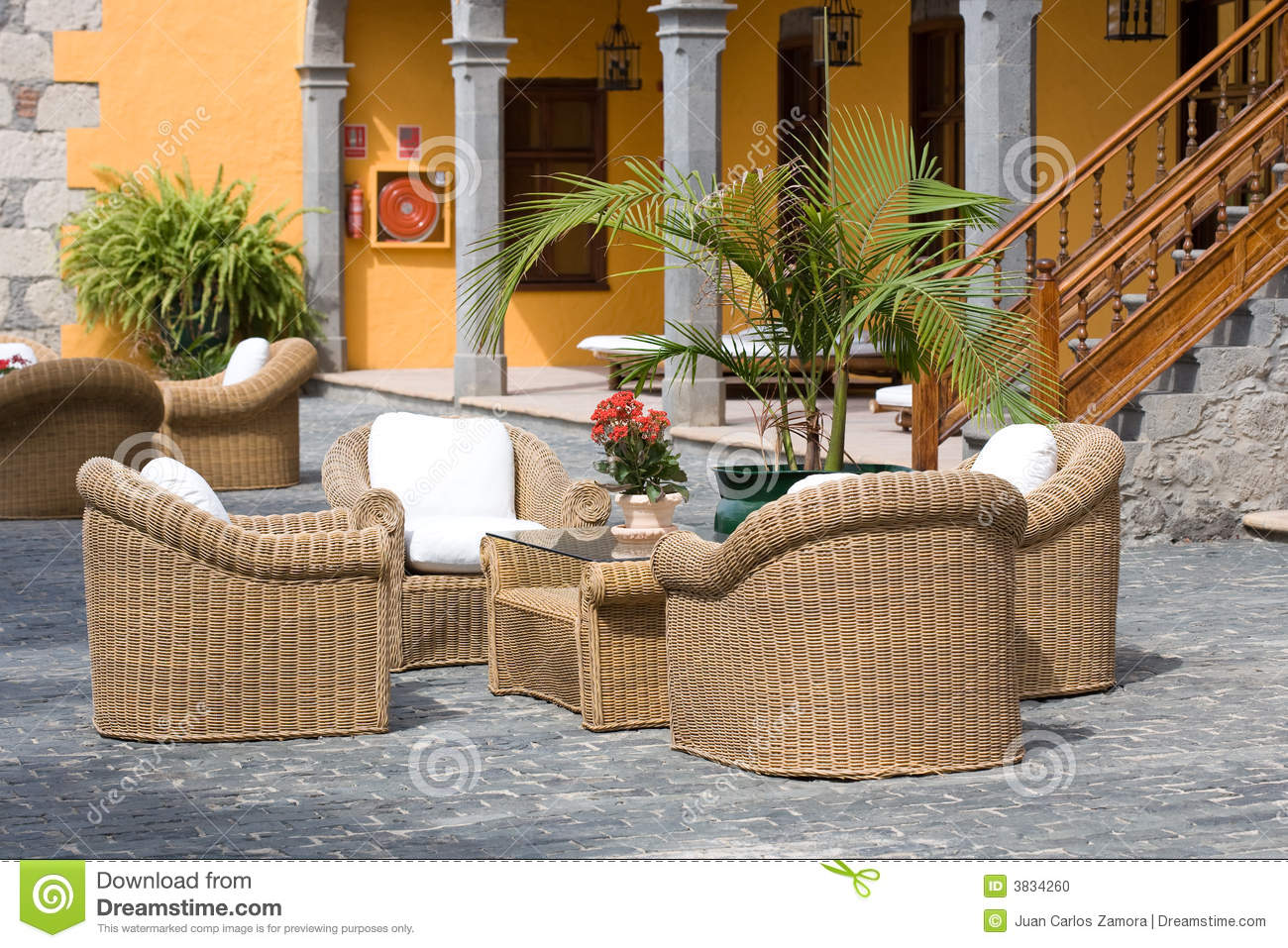Luxury outdoor furniture stock photo image 3834260 for Luxury outdoor furniture