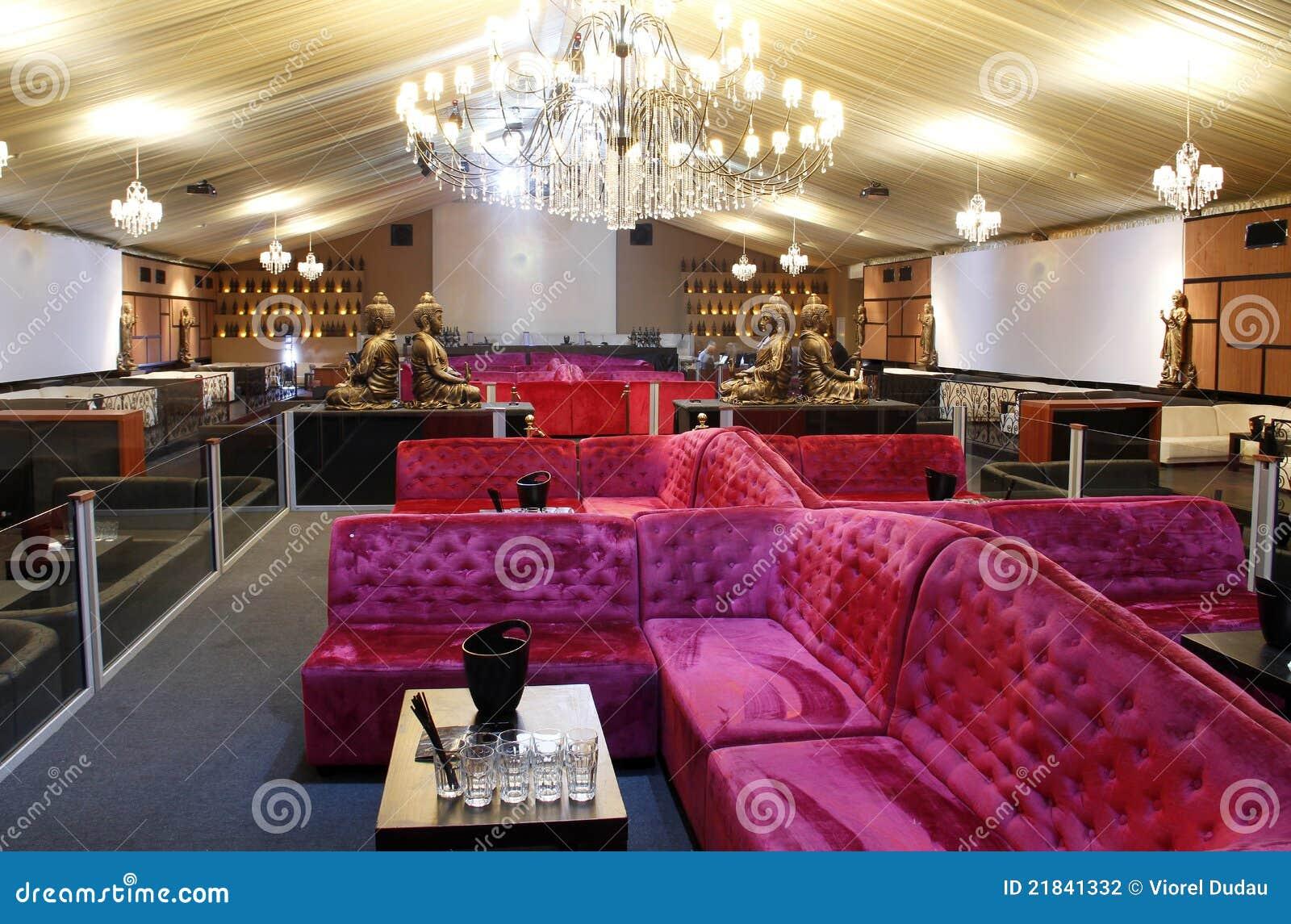Luxury Party Hall Stock Photo Image Of Club Illuminated