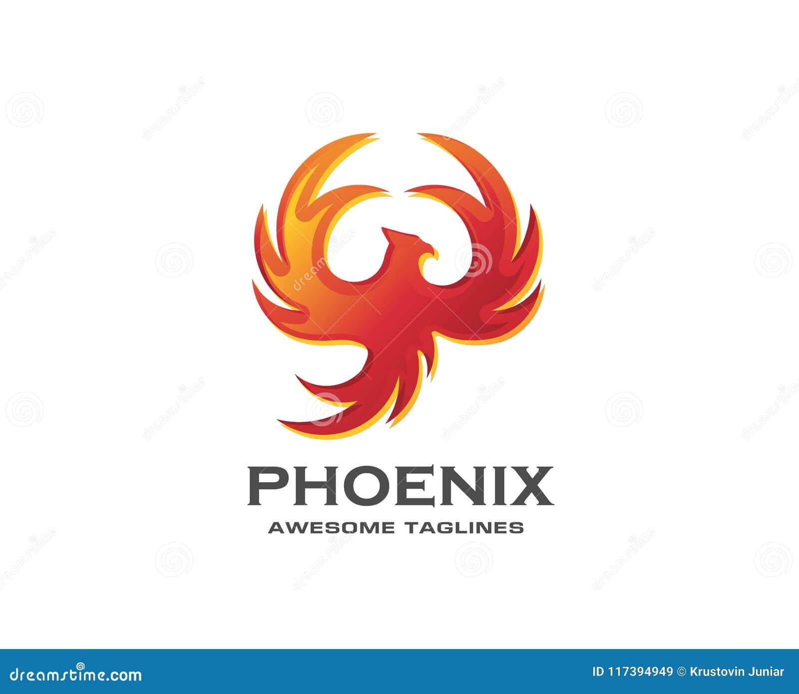 Awesome Best Phoenix Bird Logo Design Stock Vector Illustration Of Download Free Architecture Designs Licukmadebymaigaardcom