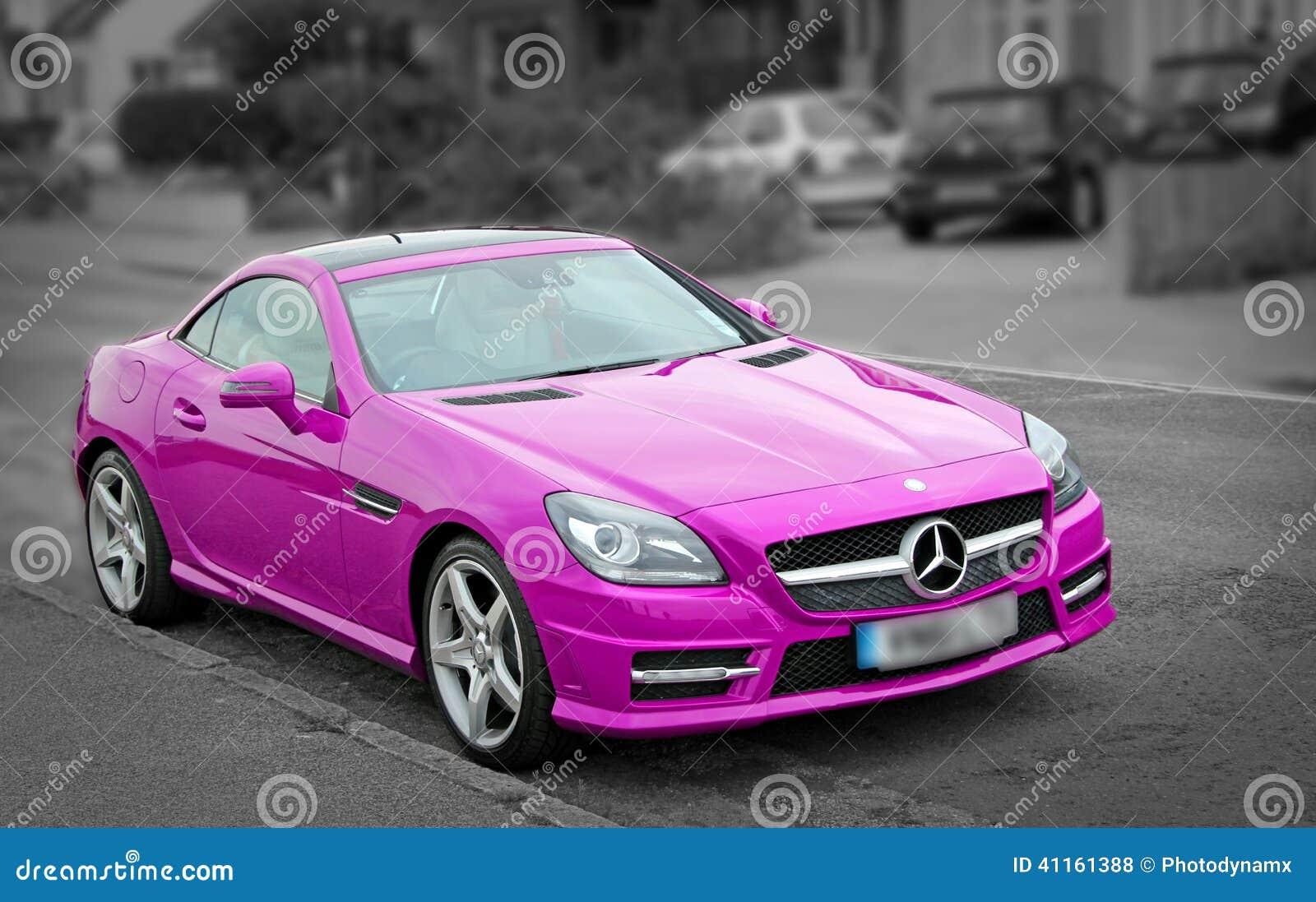 Lipstick Pink Car Paint