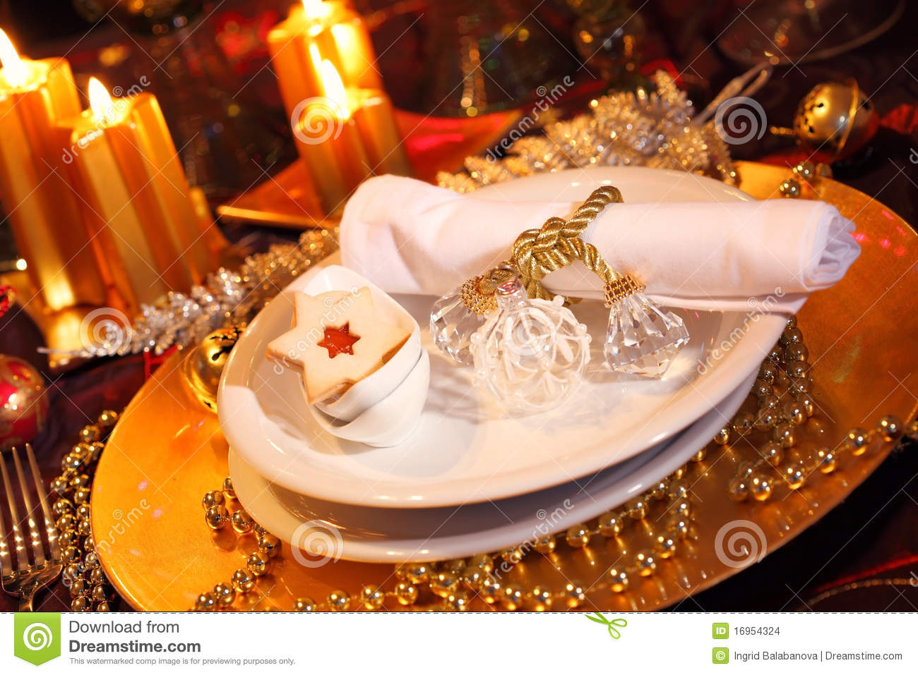 Luxury place setting stock images image 16954324 for Place setting images