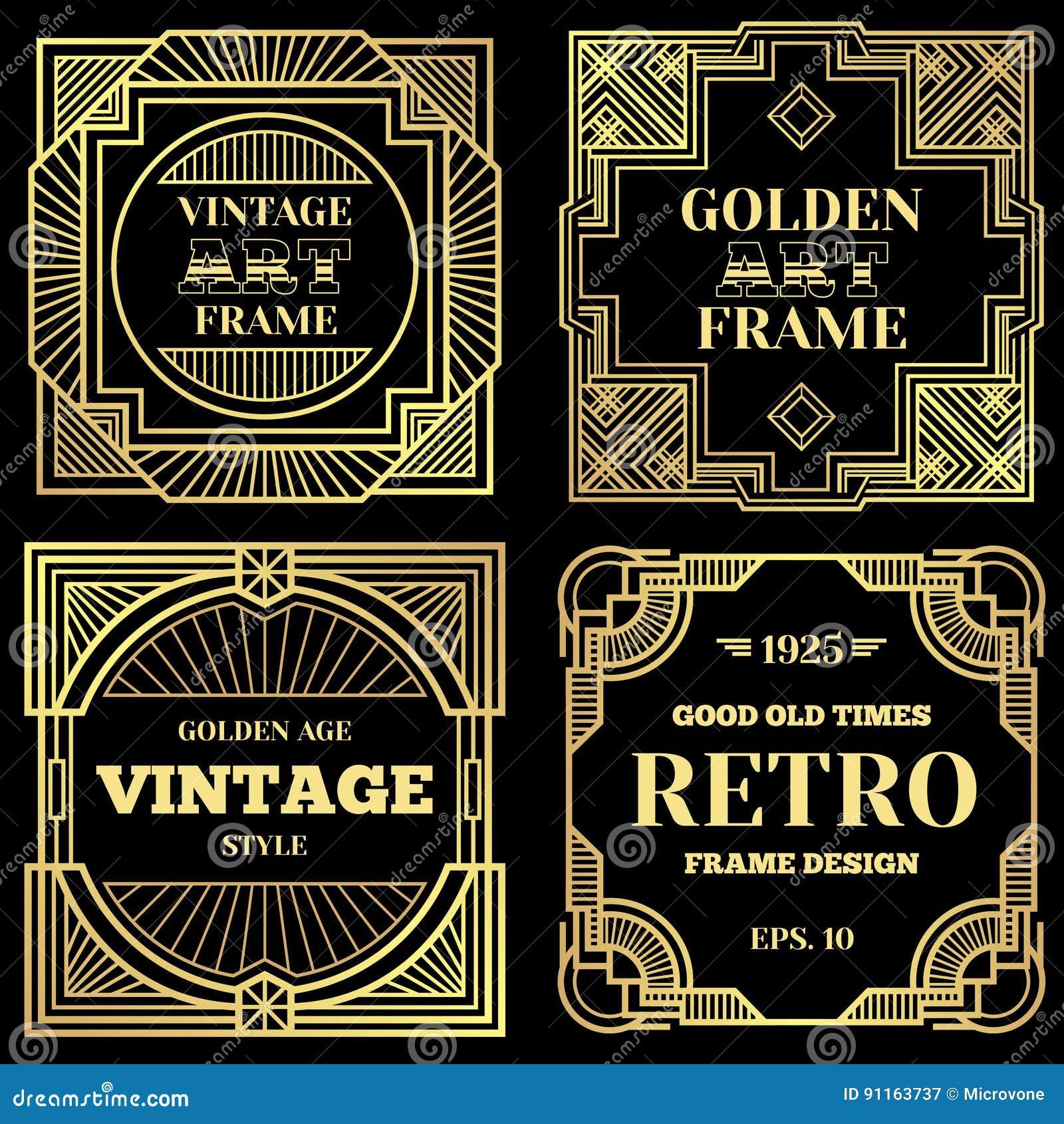 Art Deco Design Posters