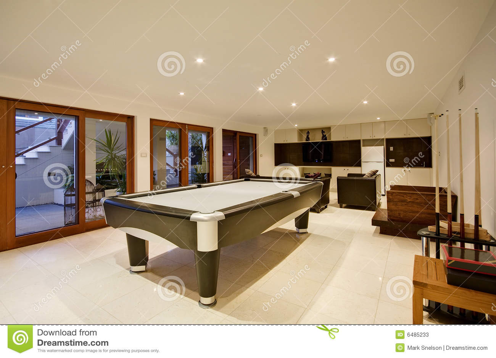 Luxury Recreation Room