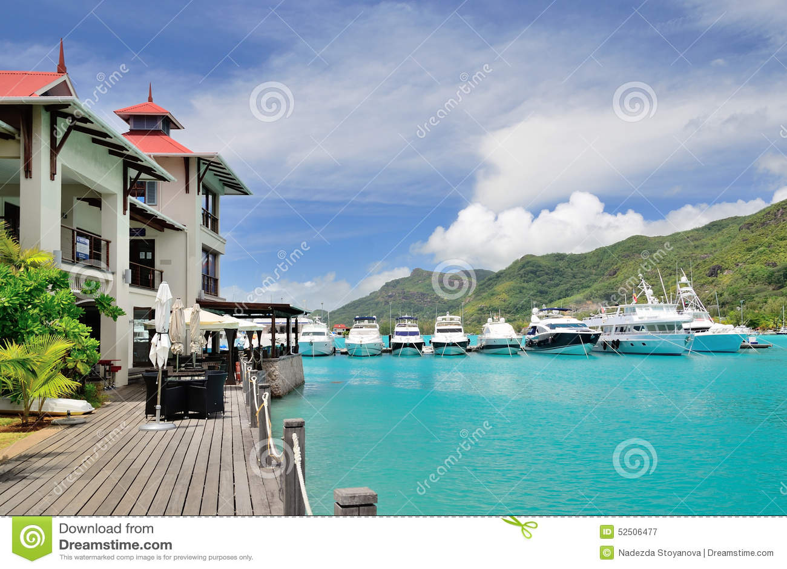 Luxury residency and marina in eden island seychelles editorial photography - Eden island seychelles ...