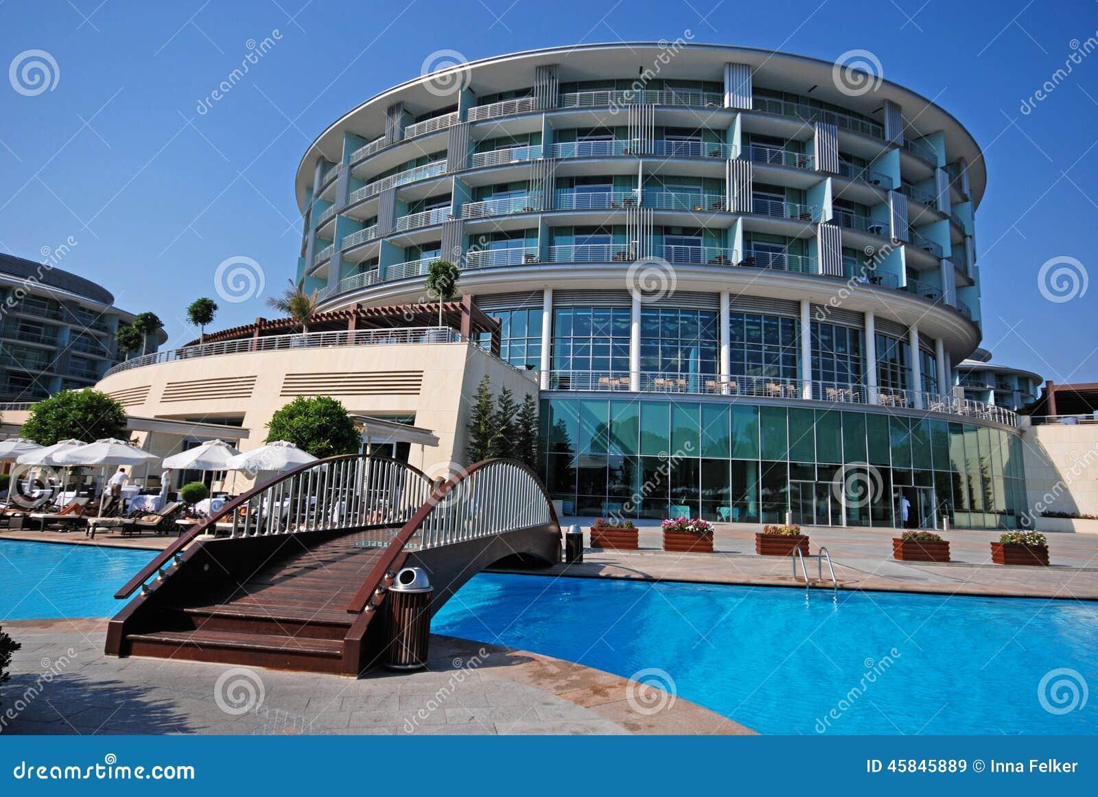 Luxury Resort Belek Turkey Editorial Stock Image Image 45845889