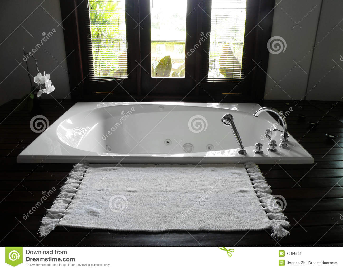 Luxury Resort Hotel Bathroom Stock Image Image 8064591