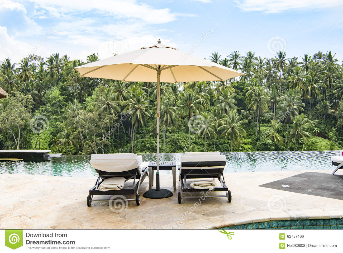 Luxury Resort Outdoor Stock Image
