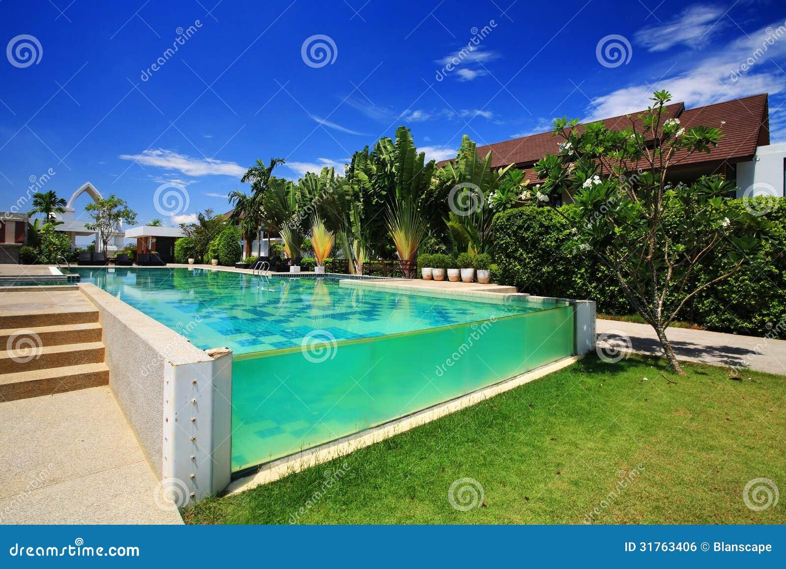 Luxury Resort Swimming Pool Royalty Free Stock Image Image 31763406