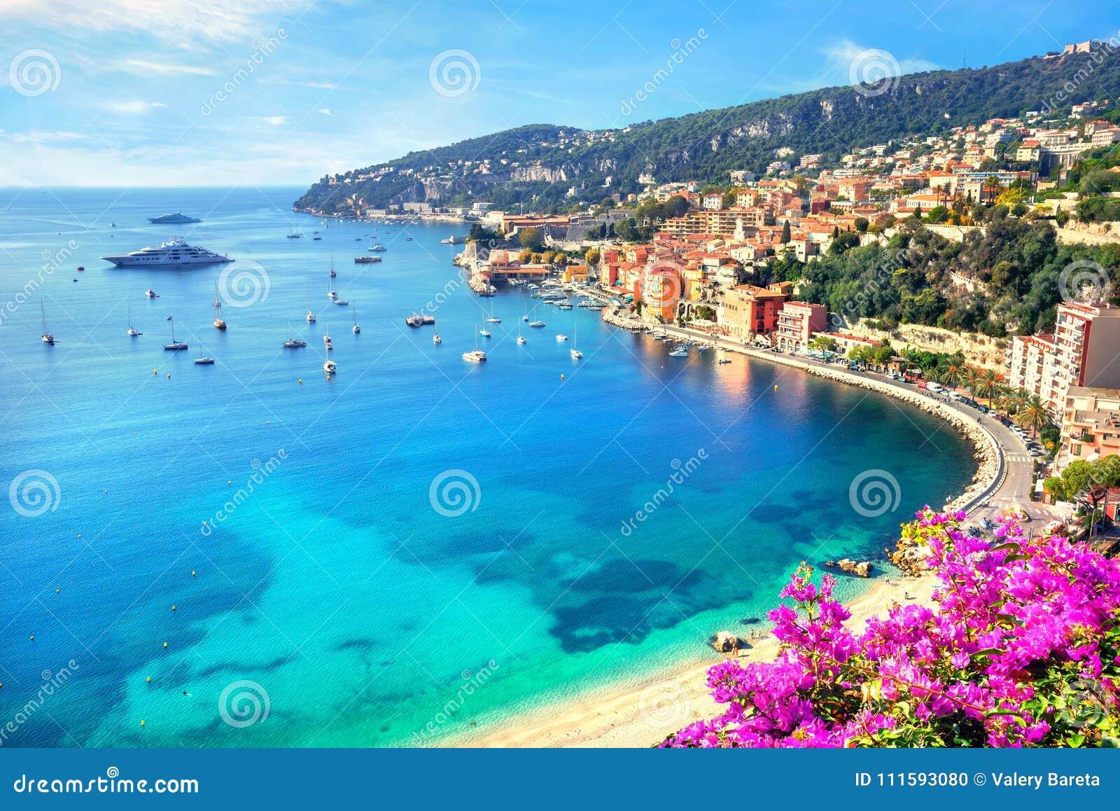 Villefranche sur Mer, Cote d Azur, French Riviera, France