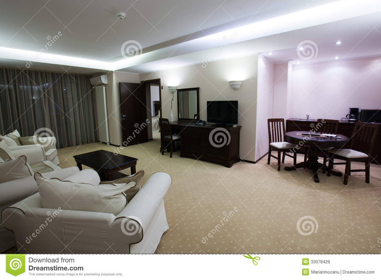 Luxury room royalty free stock images image 33078429 for Luxury hotel interior design