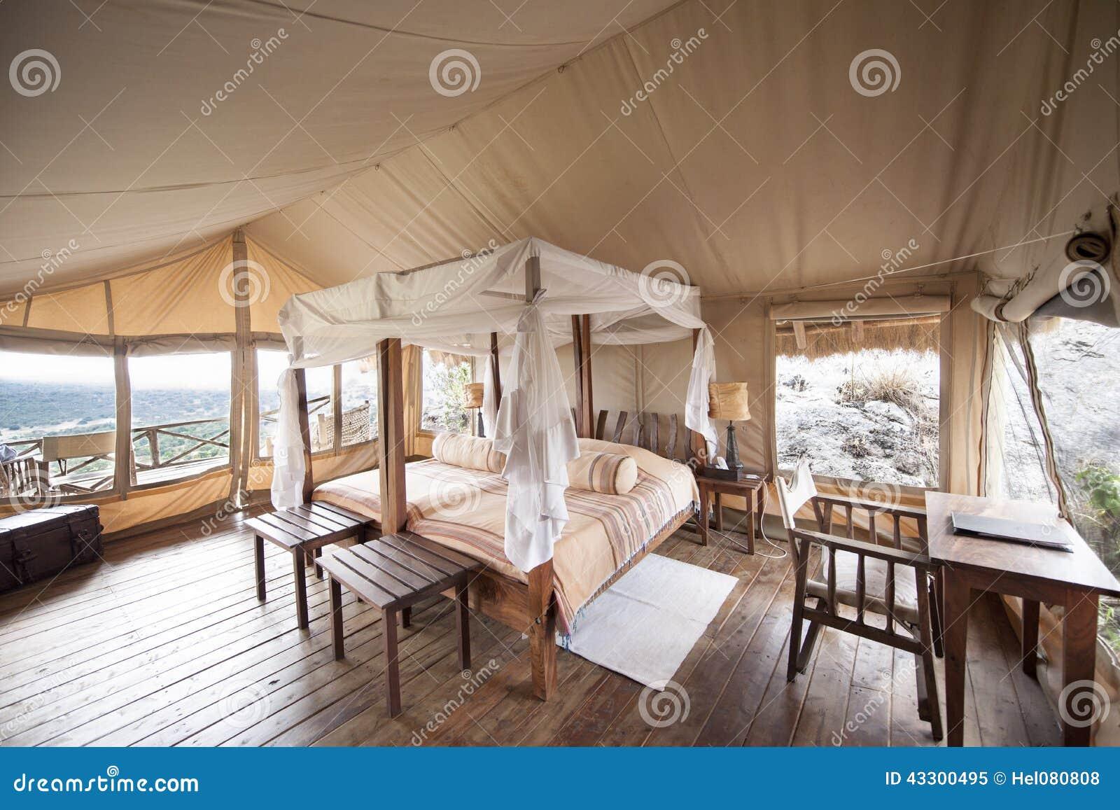 Download Luxury Safari Tent Uganda stock image. Image of canopy - 43300495 & Luxury Safari Tent Uganda stock image. Image of canopy - 43300495