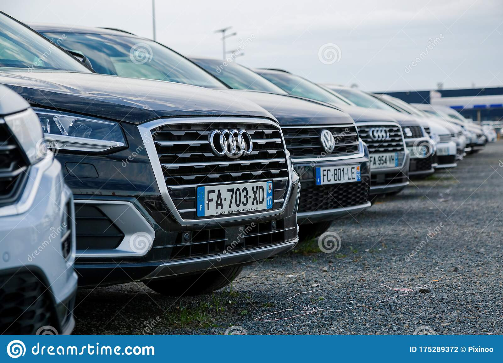 Luxury Second Hand Cars For Sale On The Network Of The German Audi Volkswagen Dealer Editorial Photography Image Of Economy International 175289372