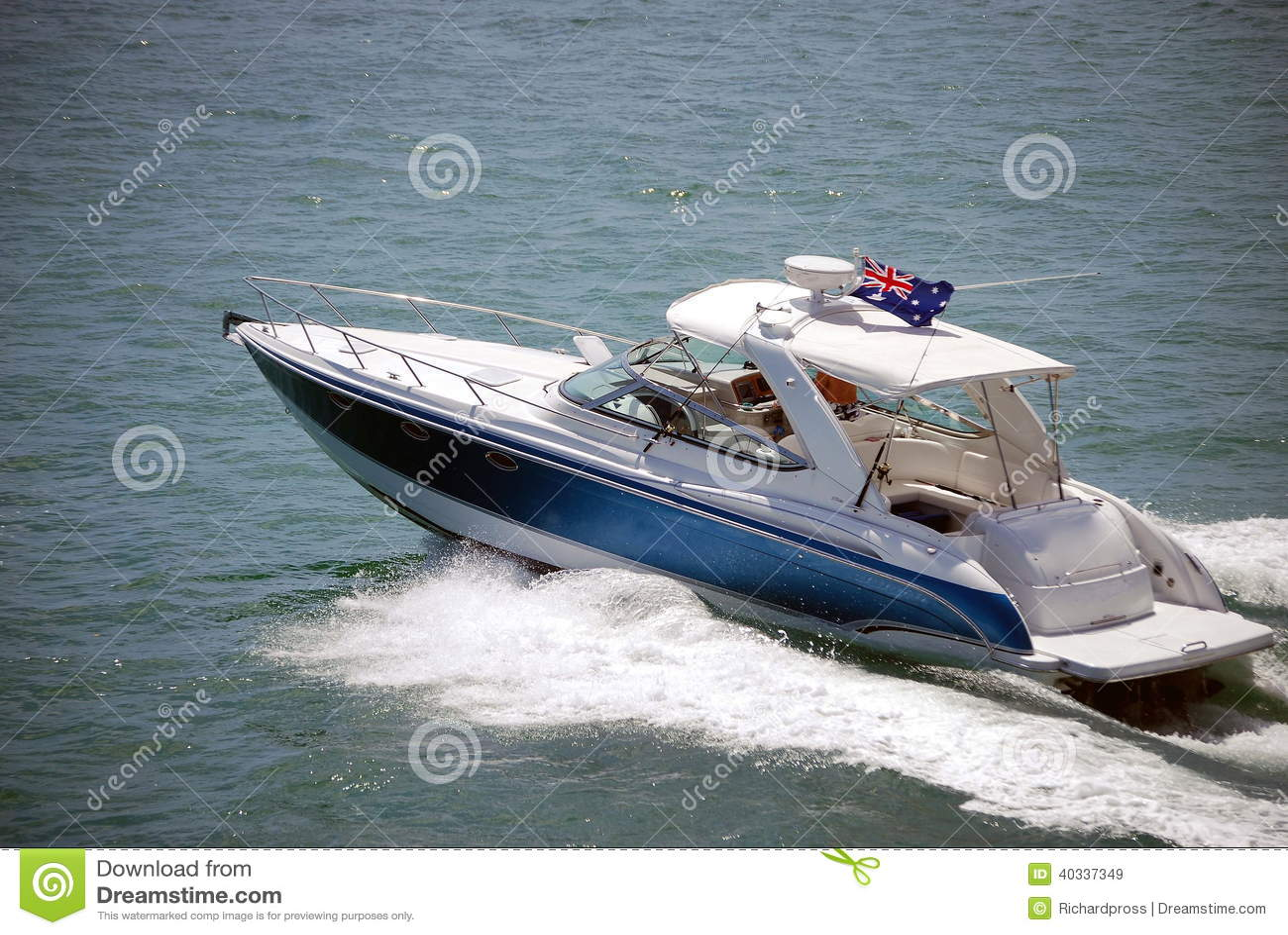 Luxury sport fishing boat stock photo image 40337349 for Deep sea fishing bay area