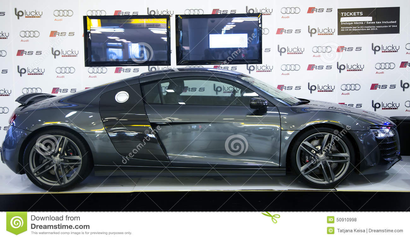 New audi r8 quattro spyder sports car royalty free stock for Auto interieur reinigen amsterdam
