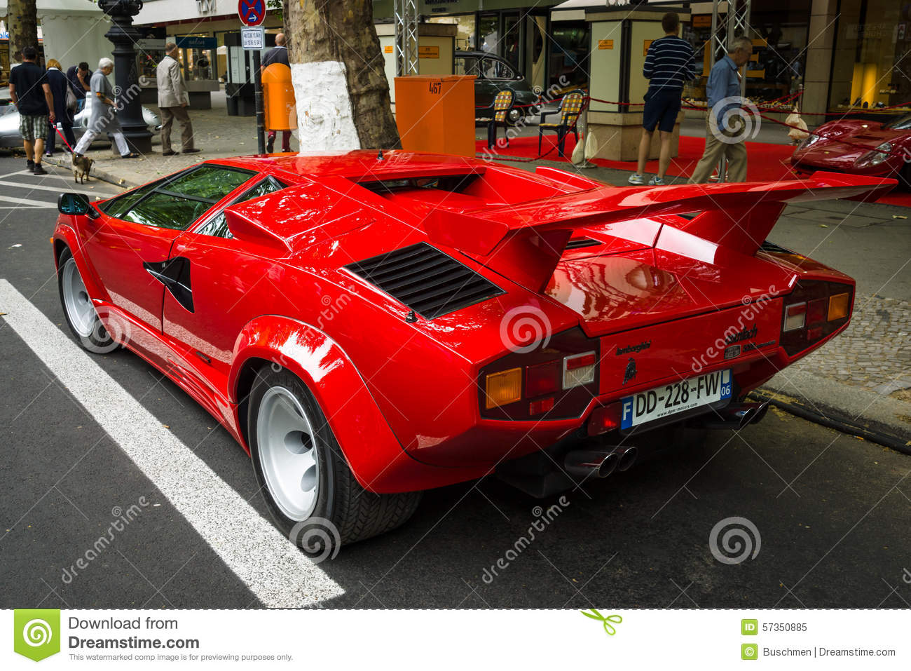 Luxury Sports Car Lamborghini Countach 5000 Quattrovalvole Editorial Image Image 57350885