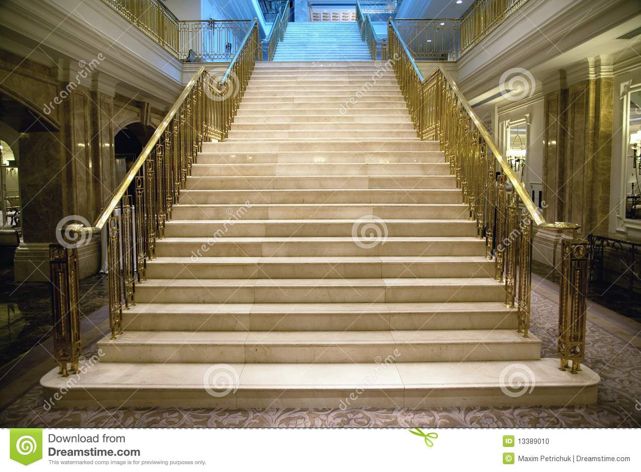 Luxury staircase stock photo image 13389010 for Luxury staircase