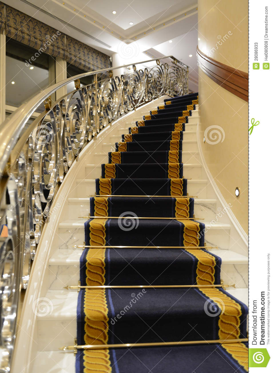 Luxury Staircase Stock Image Image Of Sophisticated
