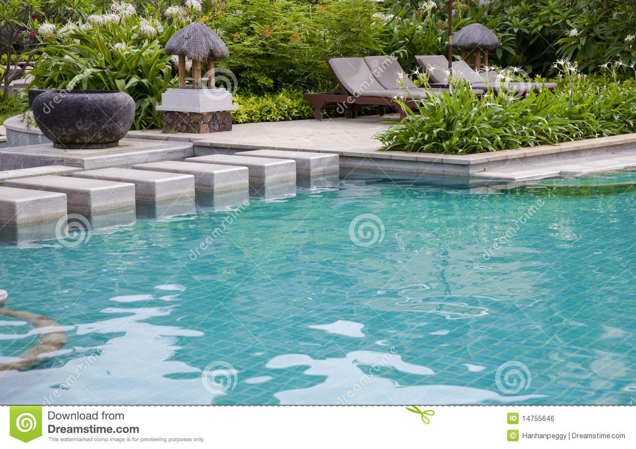 Luxury swimming pool royalty free stock image image for Luxury swimming pools