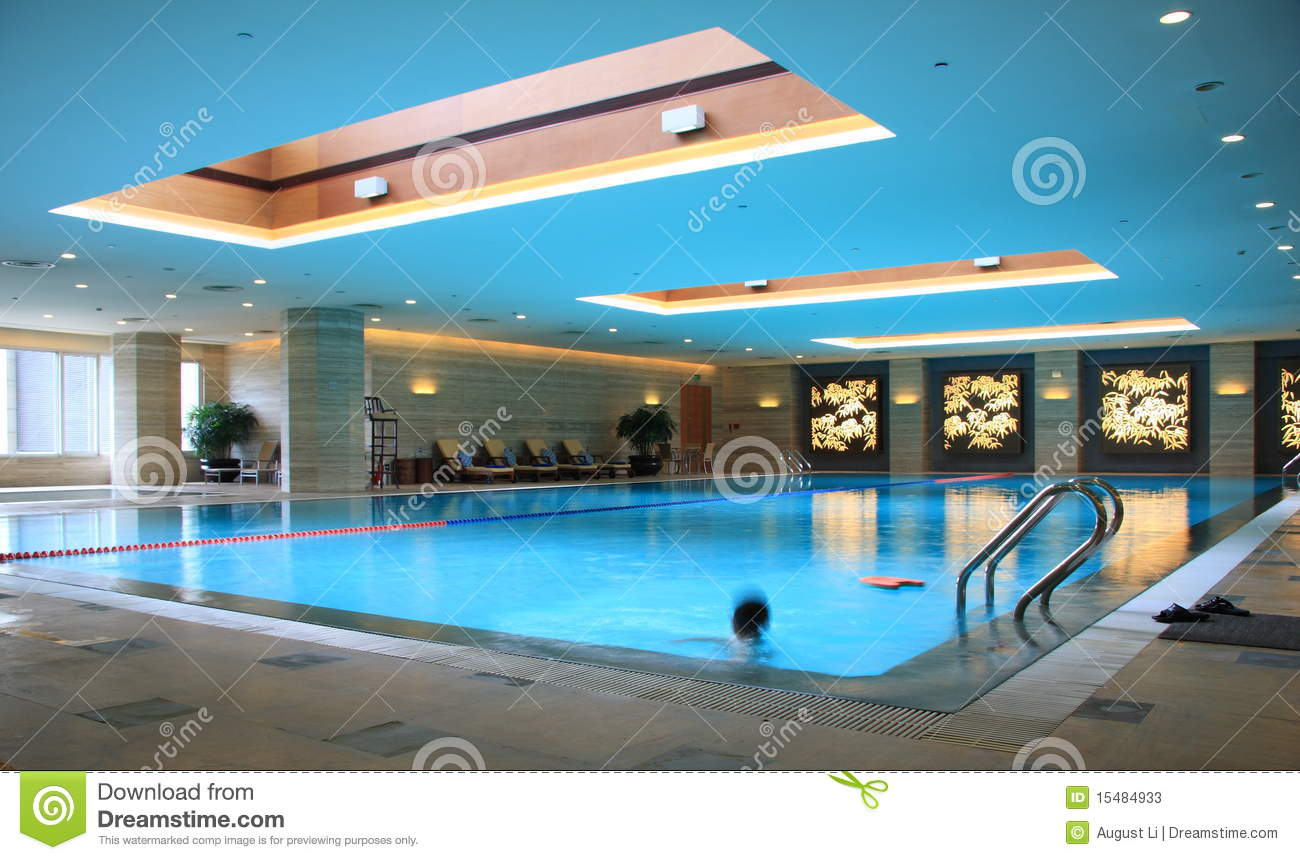 Luxury swimming pool stock image image of edge long for Pool time pools