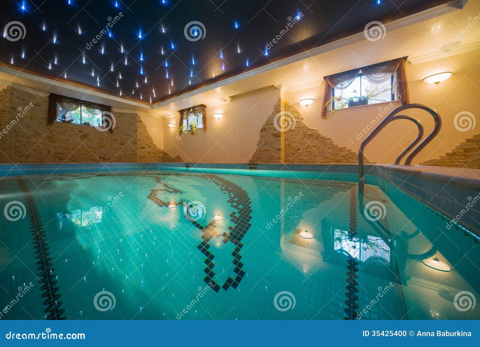 Luxury Swimming Pool Stock Photo Image 35425400