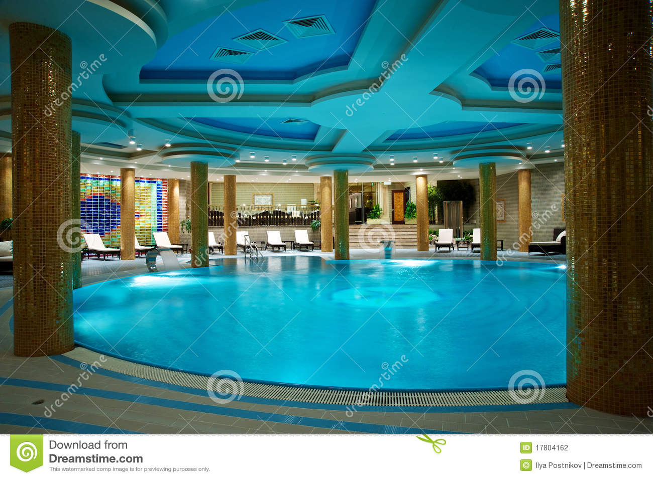 Luxury swimming pools stock photography image 17804162 for Luxury swimming pools