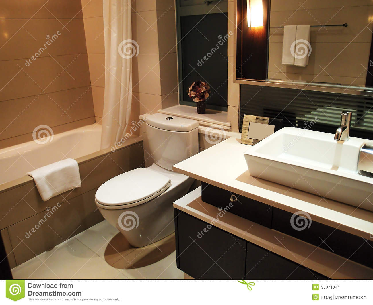 Luxury toilet stock photo image of light furnished 35071044 for Commode design luxe