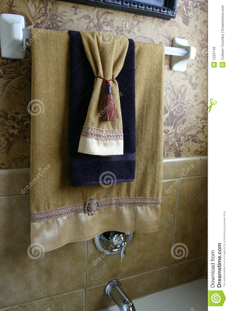 Luxury Towels Royalty Free Stock Image Image 1220746