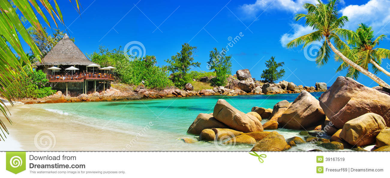 Download Luxury tropical holidays stock image. Image of restaurant - 39167519