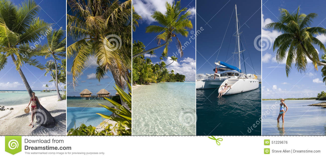 Luxury vacation - South Pacific Islands